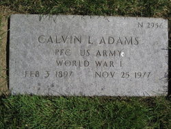 Calvin L Adams