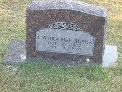Lavora Mae <i>Merrell</i> Burns