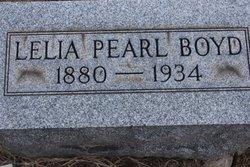 Lelia Pearl Lela Boyd