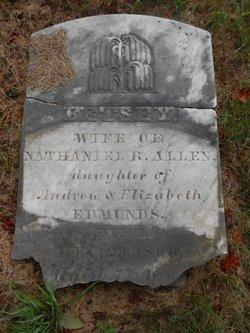 Betsey <i>Edmunds</i> Allen