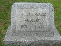 Tillilah (Matilda) Catherine Tillie <i>Meckes</i> Woolbert