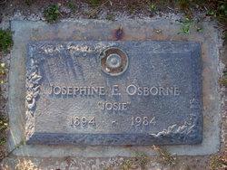 Josephine Josie <i>Etier</i> Osborne