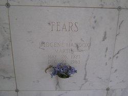 Imogene Maddox <i>Martin</i> Fears