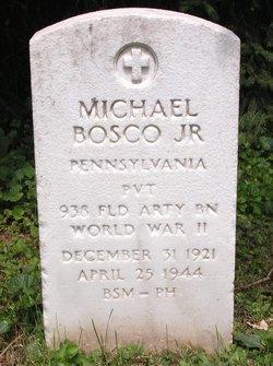 Pvt Michael Bosco, Jr