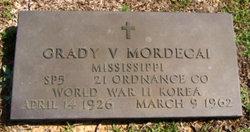 Grady Vernon G.V. Mordecai