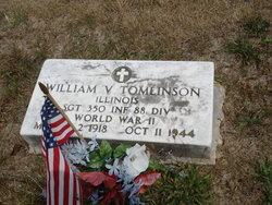 Sgt William V. Tomlinson