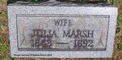 Julia Ann <i>Marsh</i> Atchison