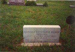 Rudolph Gottlieb Humm