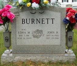 Edha Madeline Mag <i>Grimmett</i> Burnett