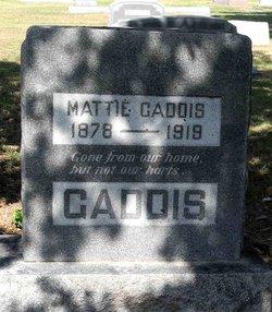 Jessie Mattie <i>Towson</i> Gaddis