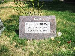 Alice G. Brown