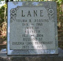 Eugenia Jan <i>Hildebrandt</i> Lane