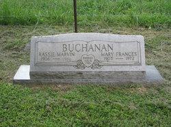 Mary Frances <i>Hawkins</i> Buchanan