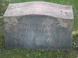 Betty Ann Ashenbrenner