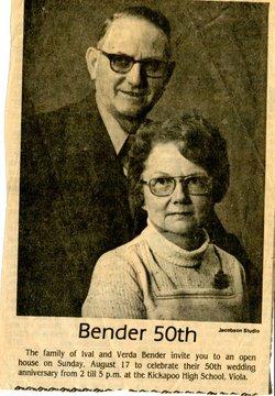 Verda Victoria <i>Harris</i> Bender