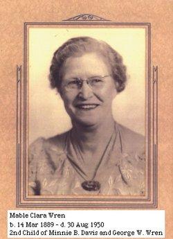Mabel Clara <i>Wren</i> Roberts