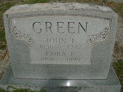 Cora Louise <i>Paschall</i> Green