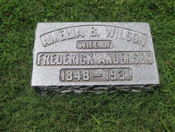 Amelia B. <i>Wilson</i> Anderson