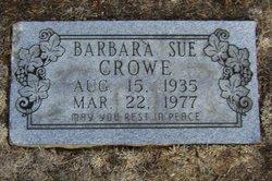Barbara Sue Crowe