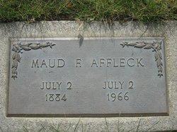Maud Frances <i>Evans</i> Affleck