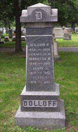 Henrietta Martha <i>Hall</i> Dolloff