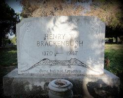 Henry William Brackenbush, Jr