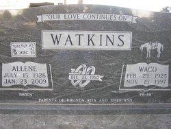 Allene <i>Means</i> Watkins