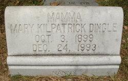 Mary <i>Kilpatrick</i> Dingle