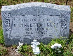 Mrs Henrietta Elizabeth <i>Singley</i> Bull