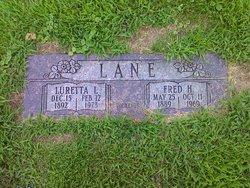 Luretta Lizzie <i>Barnett</i> Lane