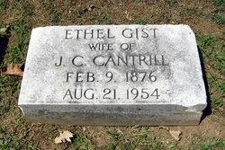 Ethel <i>Gist</i> Cantrill