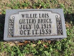Willie Lois <i>Jeter</i> Bruce
