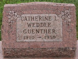 Catherine L <i>Weddle</i> Guenther