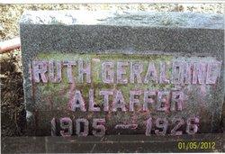 Ruth Geraldine <i>Cummins</i> Altaffer