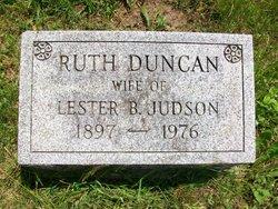 Ruth <i>Duncan</i> Judson