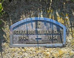 Gertrude E Aadland