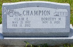 Clair Elwood Champion