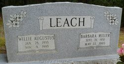 Barbara <i>Miller</i> Leach