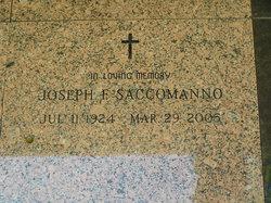 Joseph F Bud Saccomanno