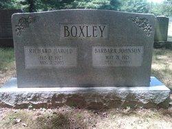 Barbara Johnson Boxley