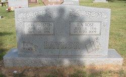 Carl Preston Baylor