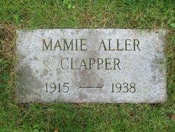 Mamie Estella <i>Aller</i> Clapper