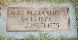 Marion Avice <i>Wilder</i> Eldred