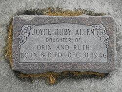 Joyce Ruby Allen