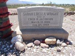 Sarah Loella <i>Wright</i> Jacobson