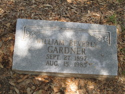 William Beverly Gardner, Sr