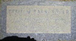 Effie E. <i>Miller</i> Barngrover