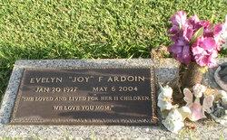Evelyn Joyce Joy <i>Fontenot</i> Ardoin