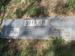 Carrie Elizabeth <i>Jacobson</i> Sharp