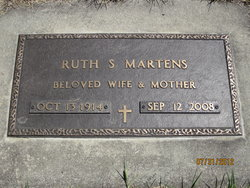 Ruth Selma <i>Rieber</i> Martens